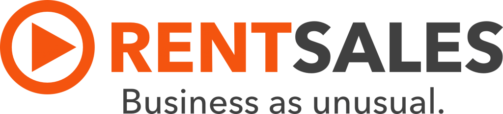 Logo RentSales Business as unusual