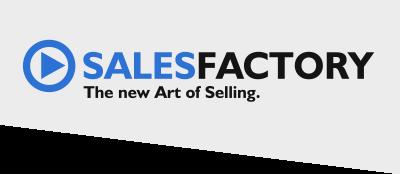 Logo Salesfactory schräg